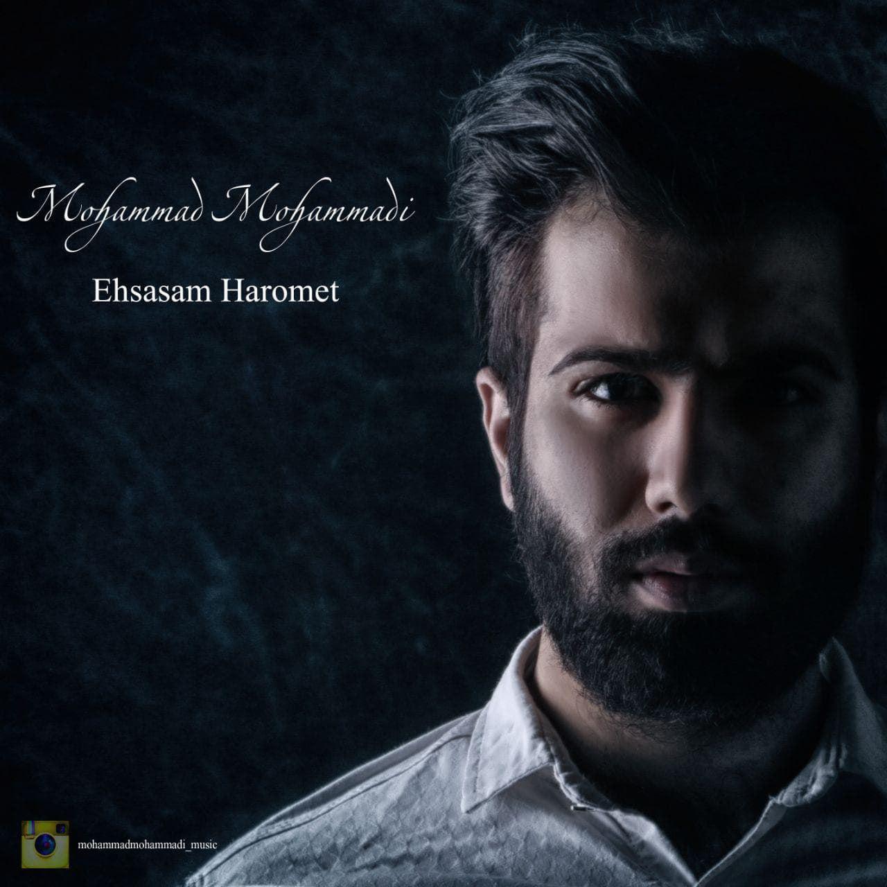 دانلود آهنگ جدید و زیبای محمد محمدی به نام احساسم حرومت