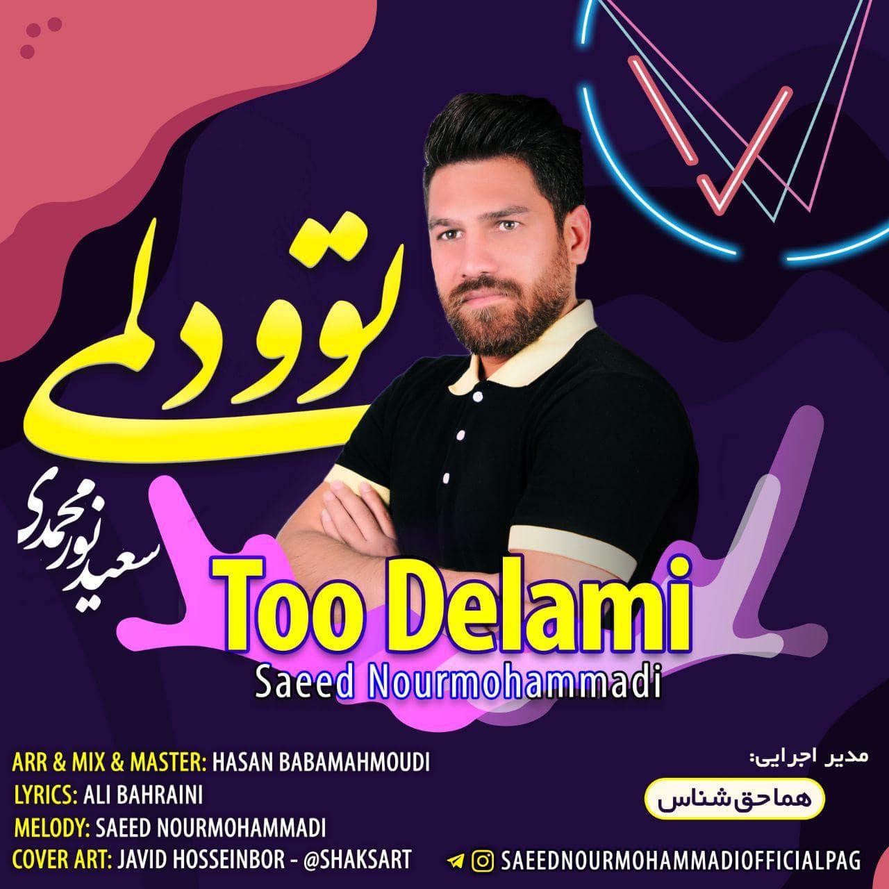 دانلود آهنگ جدید سعید نورمحمدی توو دلمی